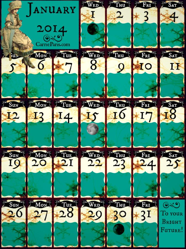 Jan Casting Calendar