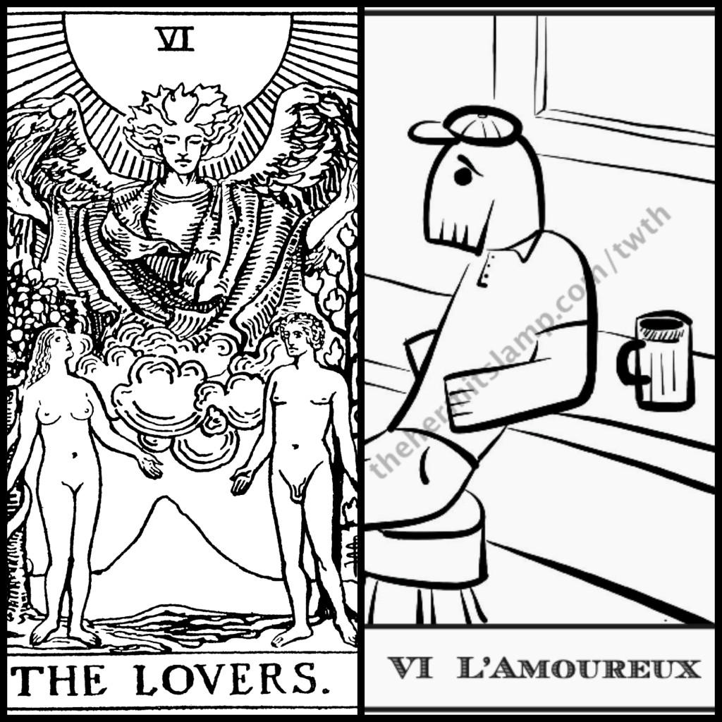 lovers hermits lamp and BOTA
