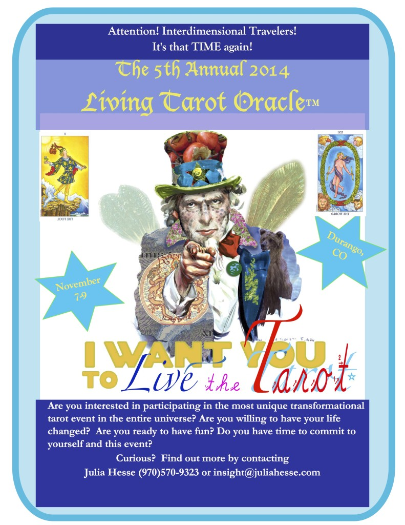 The Living Tarot Oracle!
