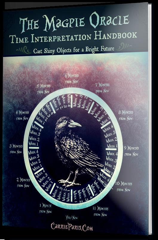 Free PDF Booklet: The Magpie Oracle Time Interpretation Handbook