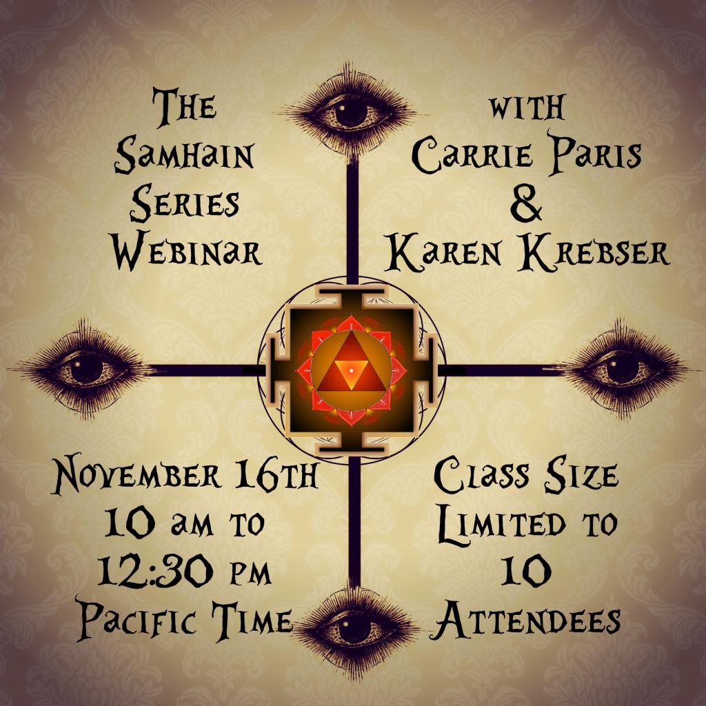 The Samhain Series Webinar