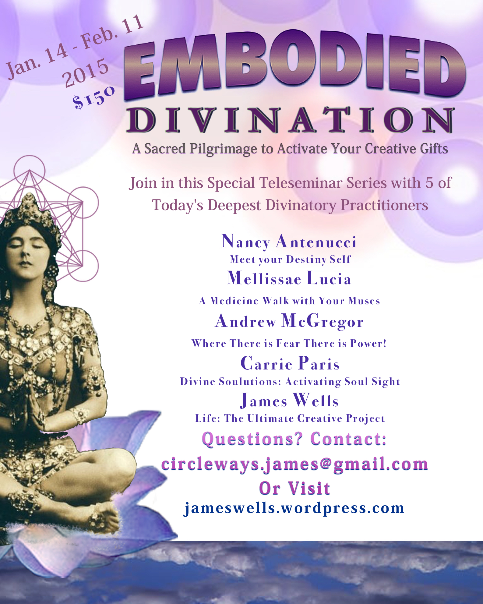 Embodied Divination: A Sacred Pilgrimage to Activate your