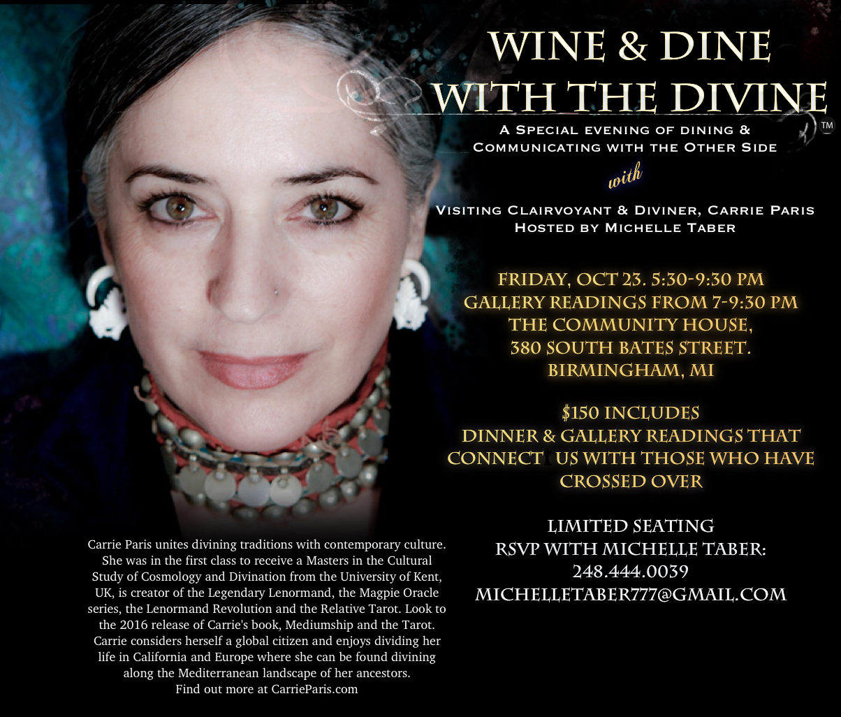 Wine & Dine with the Divine @ The Community House | Birmingham | Michigan | United States